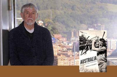 William A. Douglass (arg. Oskar M. Bernal-Deia) eta igandean Sydneyko Euskal Etxean aurkeztuko duen liburua
