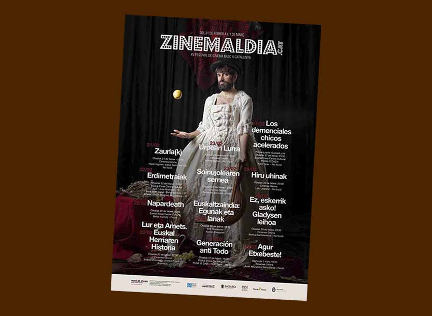 Organized by the Barcelona Euskal Etxea, Zinemaldia CAT will take place this year February 21-March 1st