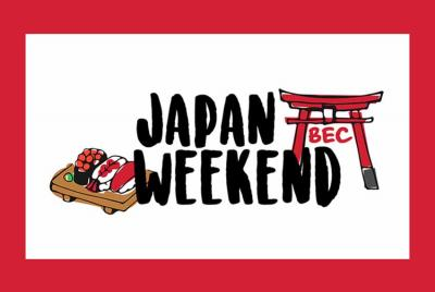 The Tokioko Euskal Etxea will collaborate in Basque Week nest July.  Logo of the Japan Weekend this February in Bilbao