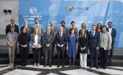 Members of the Relations with Basque Collectivities Abroad Advisory Board at the meeting held February 7, 2020