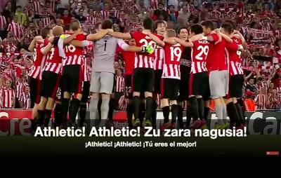 Athletic-en ereserkiko musika Carmelo Bernaolari zor zaio eta hitzak Antton Zubikarairi