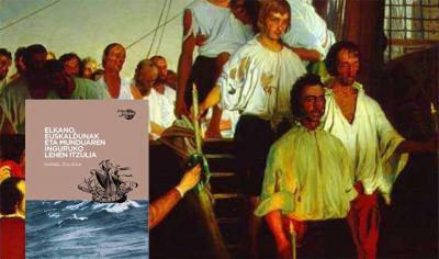 El libro de Daniel Zulaika habla sobre Elkano y los vascos de su entorno, en un pueblo como el vasco tradicionalmente ligado al mar