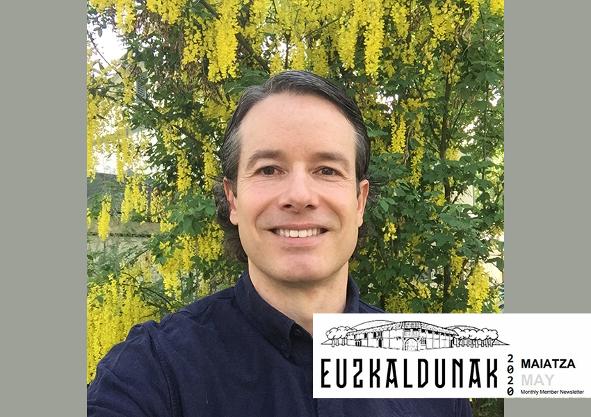 Todor Azurtza is a member of the Euzkaldunak Board of Directors in Boise that published his bertsos in its newsletter