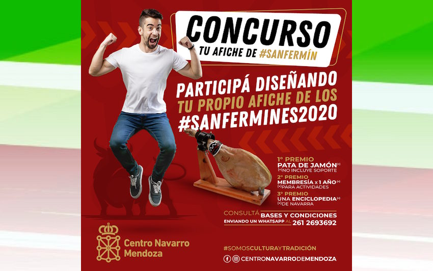 The contest to design the San Fermin 2020 festivities' poster is already open