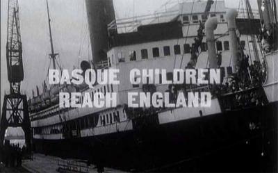Película de 1937 que da cuenta al público inglés de la llegada y presencia de los niños vascos refugiados de la guerra