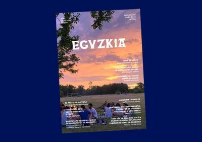 La Platako (Argentina) Euzko Etxeko Eguzkia hiruhilabetekariaren 10. zenbakia, 2020ko ekainekoa