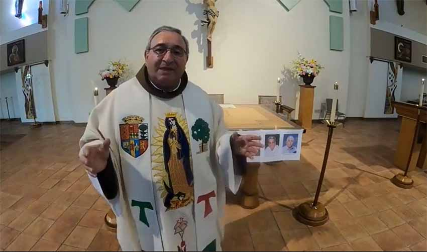 This Sunday's Basque Mass to commemorate San Igancio and cancelled Jaialdi in Boise will be celebrated by Aita Antton in California
