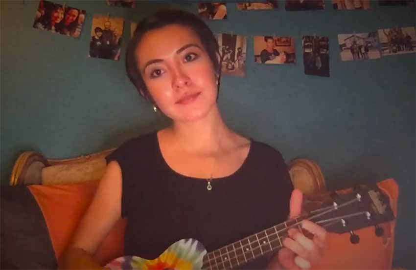 La wyomingense Mikaela Goicoechea estudia canto en la Universidad de Arizona y es la responsable de canto en el seno de NABO