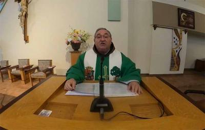 The Basque and English mass will be bradcasted at 8:30am Californian time, 9:30am, Idahoan time, and 5:30pm in the Basque Country