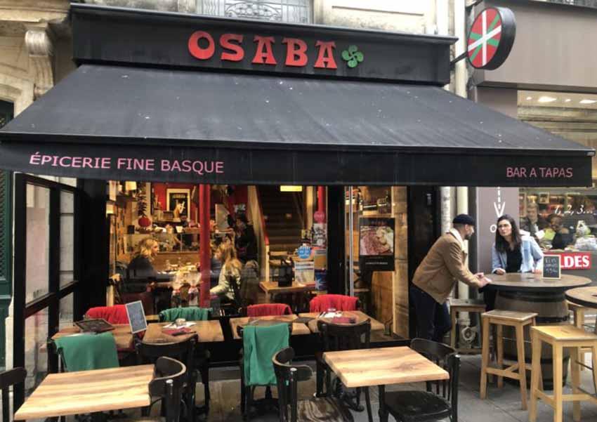 Restaurante Osaba, París (foto Gilles Pudlowski)