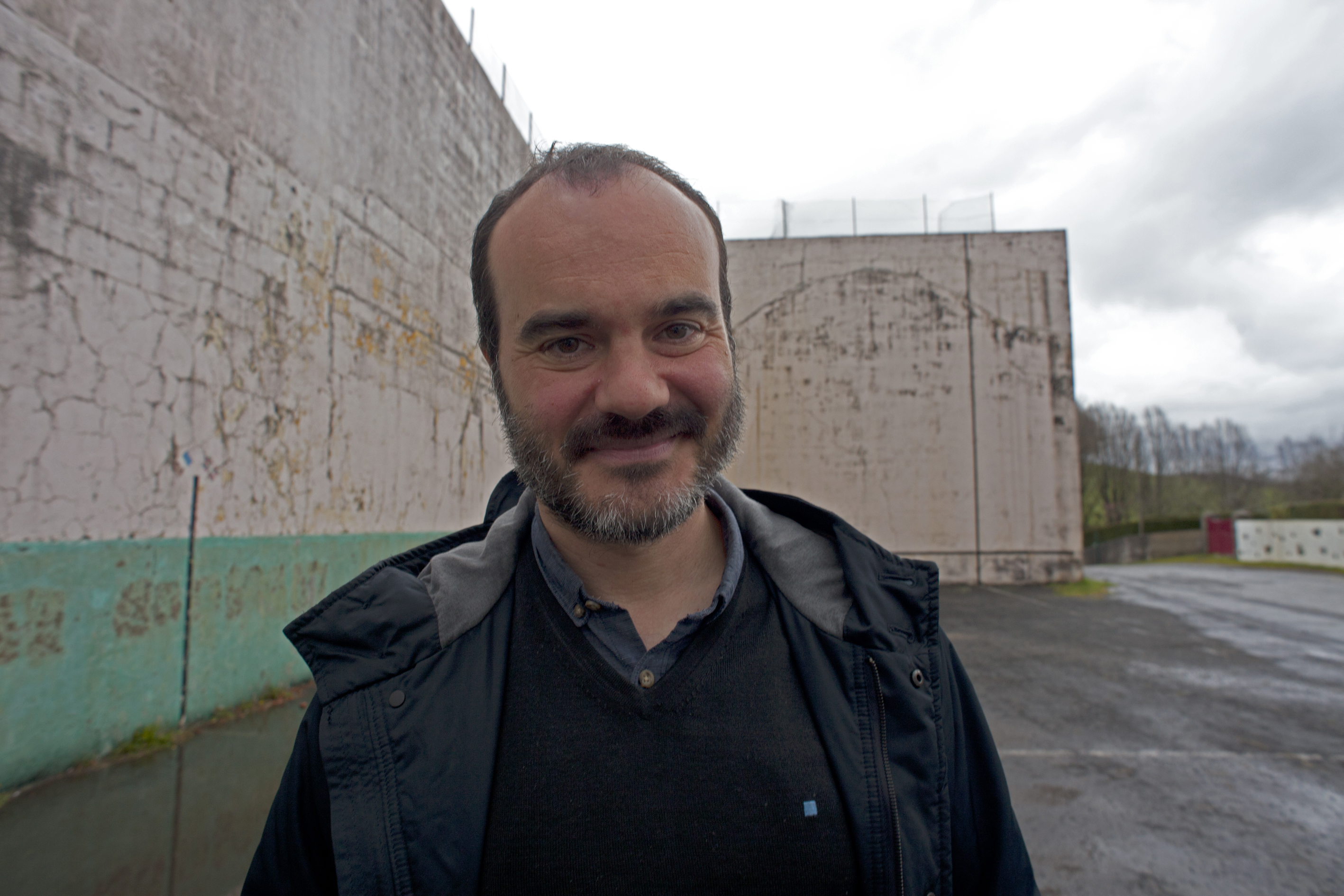 The Etxepare Basque Institute is part of the festival. Pictured, Oskar Alegria, he is at the festival with two titles (foto Jone Bordato)