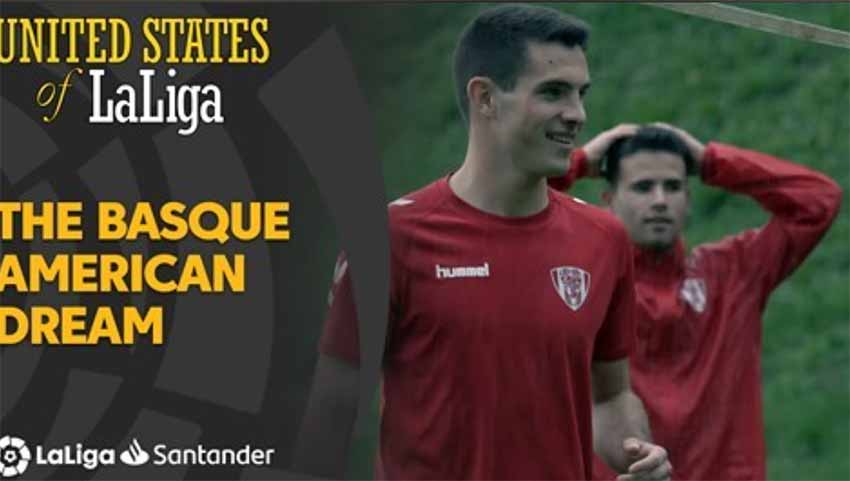 La Liga has produced this documentary about Ander Egiluz Alzola, Basque-American soccer player