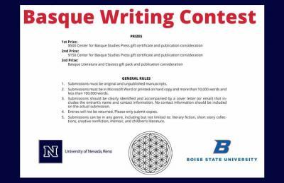 """Bases del """"Basque Writting Contest"""" o Concurso Vasco de Redacción 2021"""