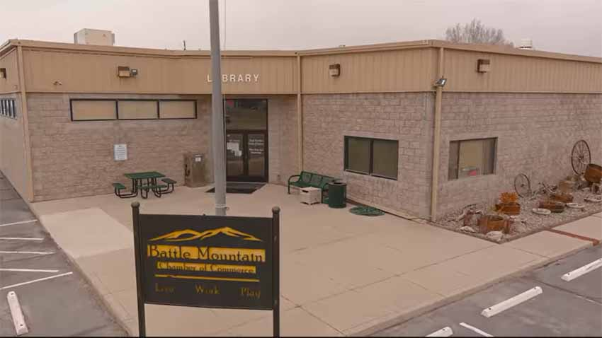 Battle Mountain's Library and Chamber of Commerce