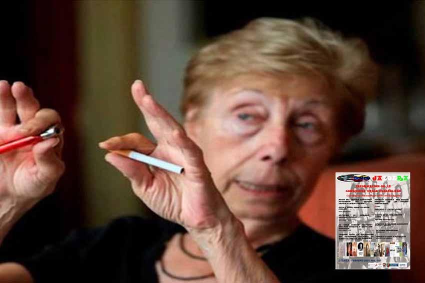 La diseñadora de prensa vasco-venezolana Karmele Leizaola, fallecida en Madrid de coronavirus, recordada en Jazoera (foto Tal Cual)