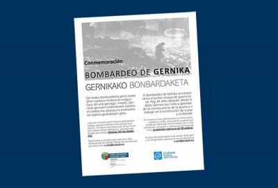 Gernikako Bonbardaketaren 84. urteurrenerako lanak aurkezteko epea apirilaren 16an amaituko da