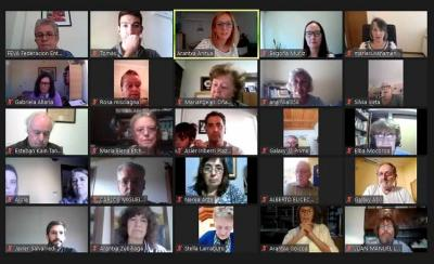 FEVA's General Assembly held on line last Saturday, April 24th