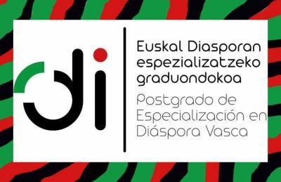 Logo del Postgrado de Especialización en Diáspora Vasca de la UPV-EHU