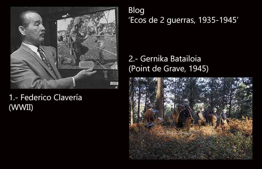 Tras el caso del marine navarro Clavería, mañana nueva entrega del blog, con una historia del Batallón Gernika en Point de Grave