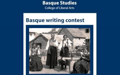 Nevada-Renoko Unibertsitateko William A. Douglass Euskal Ikasketa Zentroak antolatutako 2021 Basque Writing Contest