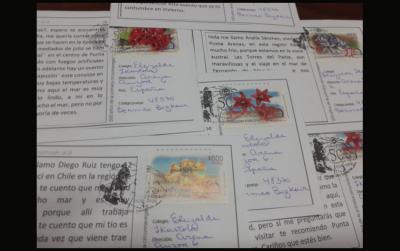 Txile eta Euskal Herriko haur eta nerabeek idatzitako 500 postalek itsasoa zeharkatuko dute, harreman berrien sustatzaile