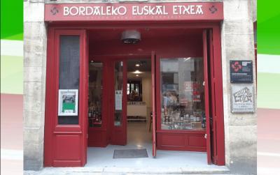 Bordaleko Euskal Etxearen egoitza, Akitania Berriko hiriburu den Bordele erdigunean kokatua