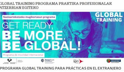 Deadline to apply for a Global Training Scholarship 2021 in next Friday, July 16th