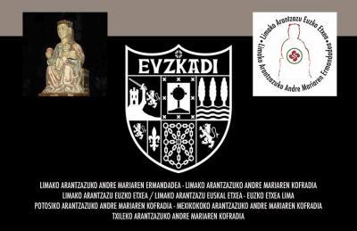 """""""Limako Arantzazu Euskal Etxea"""" se reclama heredera de las históricas Hermandades y Cofradías de la Virgen de Arantzazu que se fundaron en toda Latinoamérica entre ellas la de Lima (1612)"""