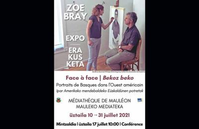 As part of the exhibit at the Mediateka in Maule, Zoe Bray will give a talk this Saturday