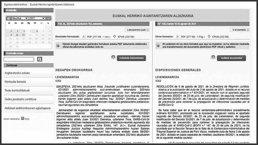 For the first time, 2021 Basque Government Grants must be applied for electronically