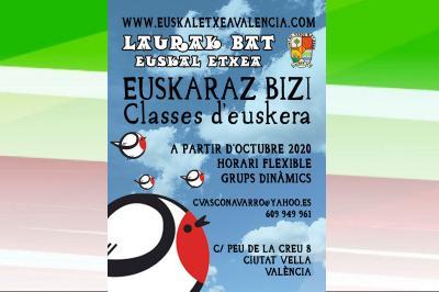 Valentziako Euskal Etxea irrikitan dago euskara eskolei eta bere ohiko gainerako proposamenei gogor ekiteko