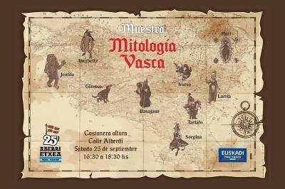 Euskal mitologiako hainbat pertsonaia ezagutaraziko dituzte erakusketa berezi honetan.