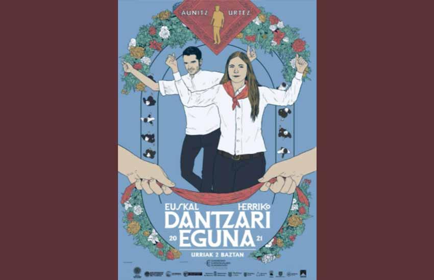 2021eko Euskal Herriko Dantzari Eguna Baztanen ospatuko da urriaren 2an, Baztanen